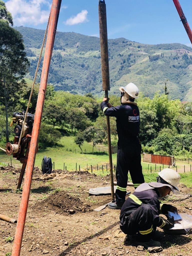Estudio de suelos Medellin